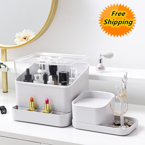 Makeup Organizer Box,cosmetic For Lipstick,jewelry Holder Necklace\earring\watch\facial Mask Storage , Arrival Boxes & Bins