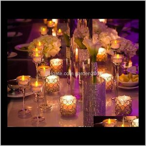 Holders H7Cm*W7Cm, Ship, Glass Crystal Candle Holder, Wedding Centerpiece & Home Decoration Ulecz Ydh2H