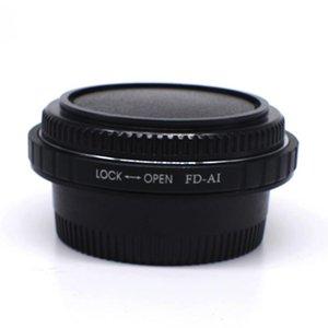 Lens Adapters & Mounts FD FL Screw Mount To AI F Adapter Ring Optical Glass Infinity For Nik D800 D700 D600 D300 D90 D80 D60 D4 D3 Camera