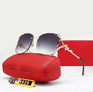2021 Designer Sunglasses Luxury Sun Glasses Fashion Brand Man Glass Driving Adumbral High Quality with Box