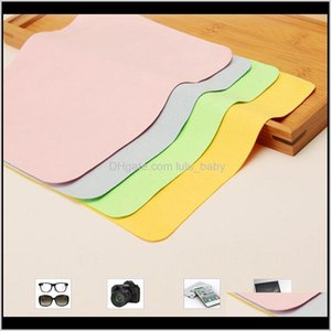 5 Pcslots High Quality Chamois Cleaner 150175Mm Microfiber Cloth For Lens Phone Screen Wipes Sspbv Eyeglasses Accessories Mqvfb