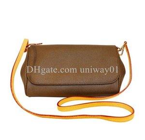 Mode Frauen Handtasche Seriennummer Datum Code Umhängetasche Hohe Qualität Leder Kreuzkörper Messenger Favorite Blume geprüft