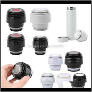 Water Bottles Drinkware Kitchen Dining Bar Home Garden Drop Delivery 2021 4Dot55Dot2Cm Bottle Cover Stopper Outdoor Cup Vacuum Lid Thermocup