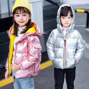 Прибытие детей с капюшоном пальто куртка осень осень зима мальчиков девочек хлопчатобумажные Parka пальто сгущает теплые куртки детские варианты 316 Z2