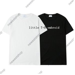 summer mens designer t-shirt women t shirt london england classic embroid Letter Embroidery casual cotton tshirt tee tops