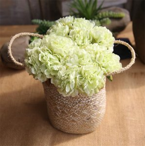 6 Colors Artificial Peony Flowers Bouquet for Wedding Decoration 5 Heads Peonies Fake Flowers Home Decor Hydrangeas Fake Flower Balls