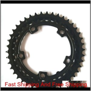 Electric Bicycle Part Cycling Sports Outdoors Drop Delivery 2021 Dual Chainring Chain Ring 3442 For Tsdz2 Tongsheng Motor 34T 42T 34 42 Ybvjd