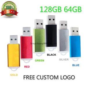 Top-quality Smart Usb Flash Drive 128G 64G Pen Drive Thumb Drives Memory Stick Usb Key High Speed Multi-color Flash Drives 128gb The Lid Usb
