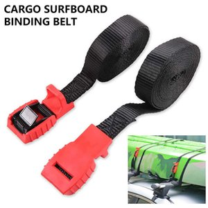 2 PCS Car Roof Rack Straps Tie Down Strap Heavy Duty Cargo Straps with Padded Cam Lock Buckle Adjustable for Surfboards Canoe