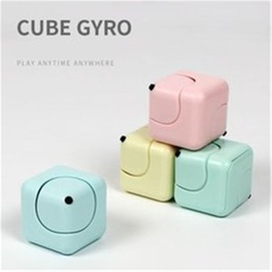 Decompression Fidget Magic Cube Party Supplies Plastic Dice Shape Hand Spinner For Autism And Adhd Stress Relieve Finger Desk EDC Children Adult Toys