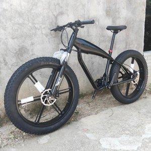 Mountain Bike Fat Bicycle Snow 24 Speed Hydraulic Brakes 26*4.0 Tires Beach Bikes