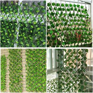 Artificial Plant Foliage Hedge Grass Mat Greenery Panel Decor Wall Fence Carpet Real Touch Lawn Moss Decorative Flowers & Wreaths