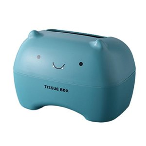 Tissue Boxes & Napkins Apartment Cartoon Box Restaurant Bedroom Rectangular Shape School Detachable Home Organizer Easy Replace Tablet Holde
