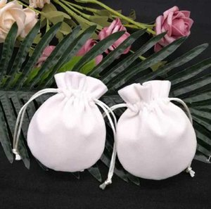 Borsa di sacchetti di velluto di gioielli Borsa per Pandora Charms Branelli Sterling Silver Braccialetto Donne Pendente Collana Pendente Confezione Packaging Bags regalo DWF6315