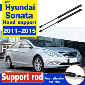 2pcs Front Engine Cover Bonnet Hood Shock Lift Struts Bar Support Arm Gas Spring For Hyundai Sonata 2011 2012 2013 2014 2015