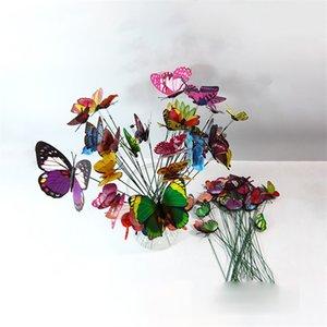 حصص فراشة أثرية مع جذع طويل، 25pcs مجموعة، تستخدم في البستنة في الهواء الطلق وزخرات النباتات الداخلية 686 Y2