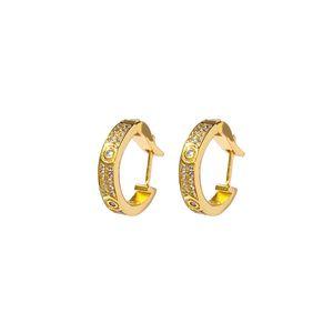 Designer Jewelry stud women Loves Earrings cleef Necklaces carti Screw Bracelet Van Party Ring Wedding Bangles Couple Gift bracelets Fashion Luxury aftghfhjghkjh
