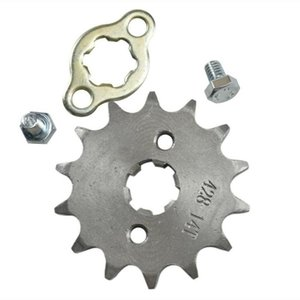 17mm 428 Pit Dirt Bike 14T 14 Tooth Front Sprocket Pitbike 110cc 125cc 140cc 150 Engine Assembly