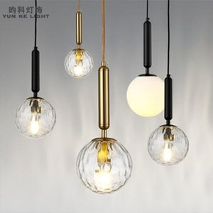 Chandeliers Vintage Crystal Black Pendant Lamp Light Globe Nordic Decoration Home Lampes Suspendues Lamparas De Techo
