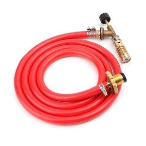 Antorcha turbo de auto ignición de gas de alta calidad con soldadura de manguera de soldadura de propano para plomería aire acondicionado