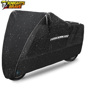 HEROBIKER Motorcycle Cover Outdoor Uv Protector Scooter Bike Waterproof Dustproof Moto Rain Indoor Lock-holes Design
