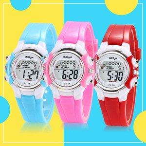 Korean children's fashion waterproof multifunctional watch kindergarten boys and girls students gift luminous clock