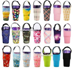 Tumbler Handler Carrier Holder Pouch Neoprene Sleeve bags Cover For All 30oz Travel Insulated Coffee Cups Water Bottle with Carry 2NGQ 2S9N