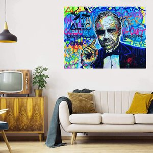The Godfather Huge Oil Painting On Canvas Home Decor Handcrafts  HD Print Wall Art Pictures Customization is acceptable 21062413
