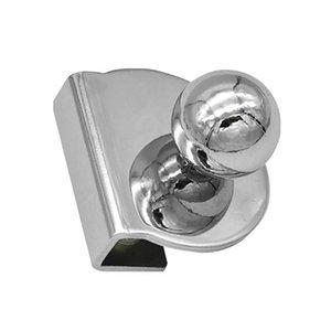 Handles & Pulls Bathroom Pull Knob Smooth Home Decor Cabinet Drawer Kitchen Accessories Furniture Hardware Clamp Glass Door Handle No Drilli