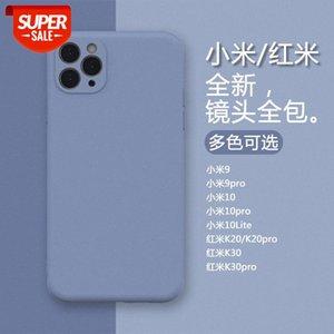 Imitation of the original liquid silicone Xiaomi 9pro all-inclusive camera Redmi K20 30 pro mobile phone case for 10Lite #dC54
