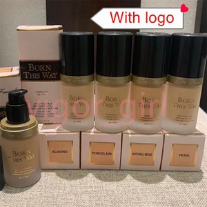 Stock Face Makeup Born This Way 4 Colors Foundation 30ml Liquid Concealer Luminous Oil Free Undetectable Medium to Full Coverage Foundations
