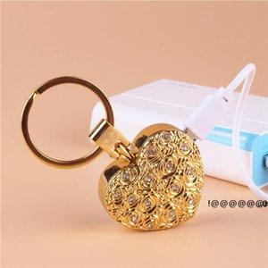 NewHome Fumeur Accessoires Électronic Cigarettes Briquets Creative Love Keychain Turnproof USB Charging Femmes Femmes Cadeaux EWA4823