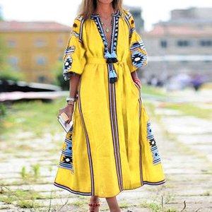 Vestidos casuales vestidos de mujer guyi bohemia