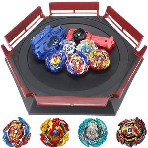 Takara Tomy Kombination Beyblade Burst Set Toys Beyblades Arena Bayblade Metall Fusion 4D mit Launcher Spinning Top Toys B150 Y200428