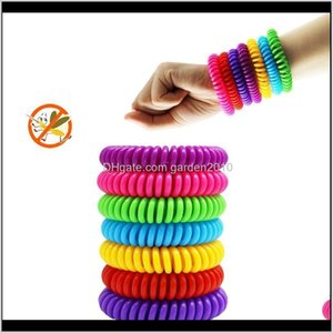 Mosquito Repellent Bracelet Multicolor Pest Control Bracelets Insect Protection Camping Waterproof Spiral Wrist Band Outdoor Indoor Sf Wlocv