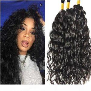 Высочайшее качество бразильские волосы натуральные волны человеческие волосы навалом для плетения 3шт 100 г навалом волос для плетения