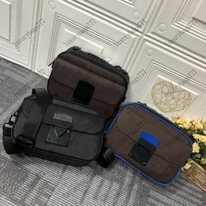2021new Messenger Bags Brand new lock Leather handles and logo straps are stylish easy to use Men's fashion handbag Luxury design bag