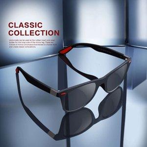 Aofly New Design Ultralight TR90 Поляризованные солнцезащитные очки Мужчины Женщины Вождение Квадрат Стиль Солнцезащитные Очки Мужской Goggle UV400 Gafas de Sol