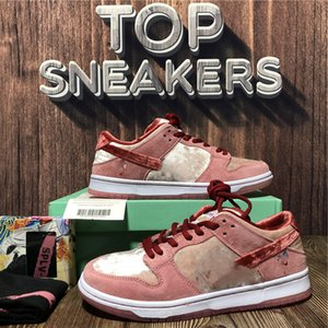 TOP Quality Men Women Low-top Platform Casual Shoes Chunky Bear Medicom Toy Kentucky Orange Breathable Outdoor Mens WomensTrainers Sneakers With Box