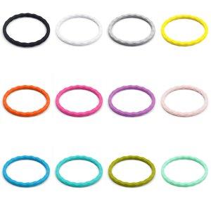 Women Sport Wristband Wave Bracelet Flexible Silicone Rubber Wrist Band Lady Girls Bangle Fashion Accessories