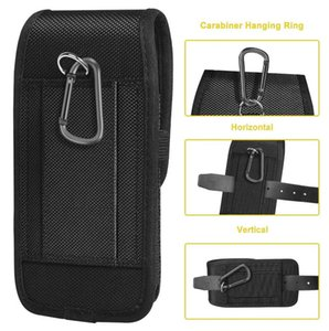 Universal Phone Pouch Belt Clip Case For Honor 20 Huawei P20 Pro Lite Waist Bag Magnetic Holster Cover Cell Cases