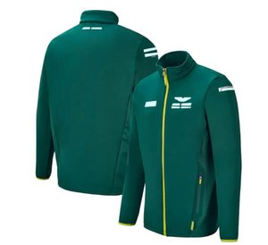 F1 Team Racing Anzug Hoodie, winddichte, warme, warme und Fan-Jacken werden im selben Stil angepasst