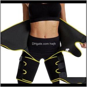 Arm Warmers Women Waist Secret Slimming Leg Shaper Thigh Trimmers Warmer Slim Shaping Legs Fat Burning Wraps Thermo Compress Belt Shap Tlwxy