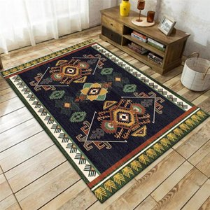 Carpets Bohemia Ethnic Style Carpet Europe Retro Floral Living Room Rug Persian National Bedroom Kitchen Floor Mat