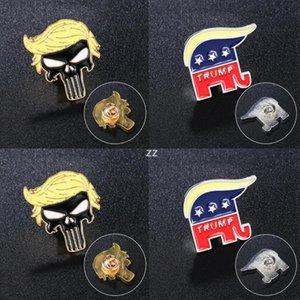 Trump Brooches Party Supplies Punk Symbol Badge America President Election Pins Coat Jackets Backpack Trump Brooch HWA8602