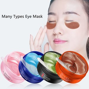 Moisturizing Eye Care Mask Patch 60pcs=30pairs Crystal Collagen Eyes Masks Anti Age Sleep Dark Circles Remover Face Cares