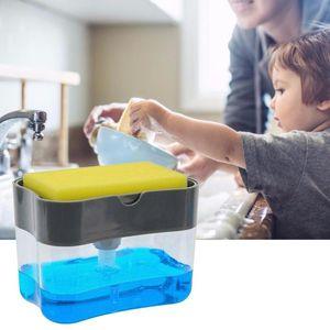 Multifunction Soap Dispenser Sponge Caddy Non-toxic Odorless Kitchen Rack Creative Bathroom Washing Storage Box Outdoor Gadgets