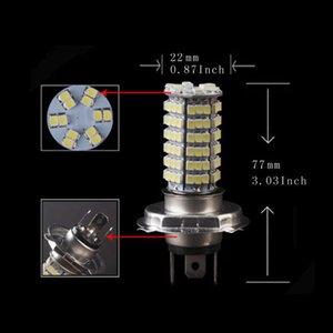 12V Xenon Blanc H4 9003 120 SMD Ampoule LED ampoule haute Basse de la lampe à poutre