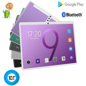1PCS Octa Core 10 inch MTK6592 dual sim 3G tablet pc phone IPS capacitive touch screen android 8.0 4GB 64GB 6 colour