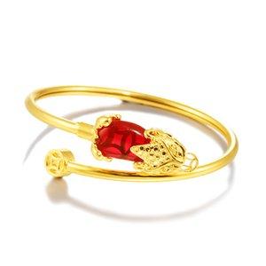 Трансграничная электронная коммерция поставляется свадебное свадебное свадебное аксессуар медное покрытие 24K Jin Yue Nansha Golden Pixiu браслет браслета